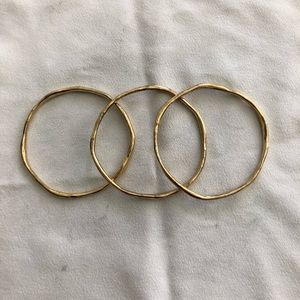 Gold Chloe & Isabel bangle set